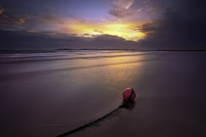 Pink Beach Buoy